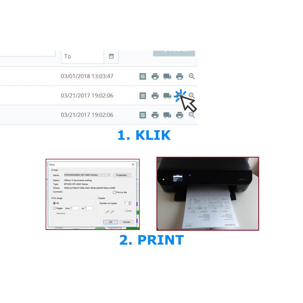 module - Boekhouding en fakturatie - Snel & Bulk afdrukken - Facturen & Bonnen - DPP - 2