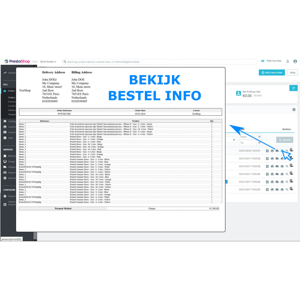 module - Boekhouding en fakturatie - Snel & Bulk afdrukken - Facturen & Bonnen - DPP - 3