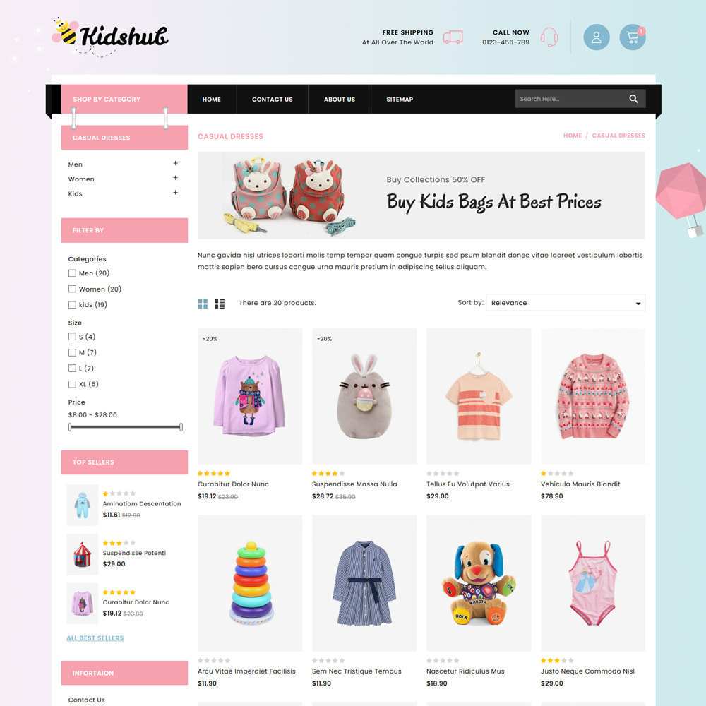 theme - Niños y Juguetes - Kidshut Kids & Toys Store - 3