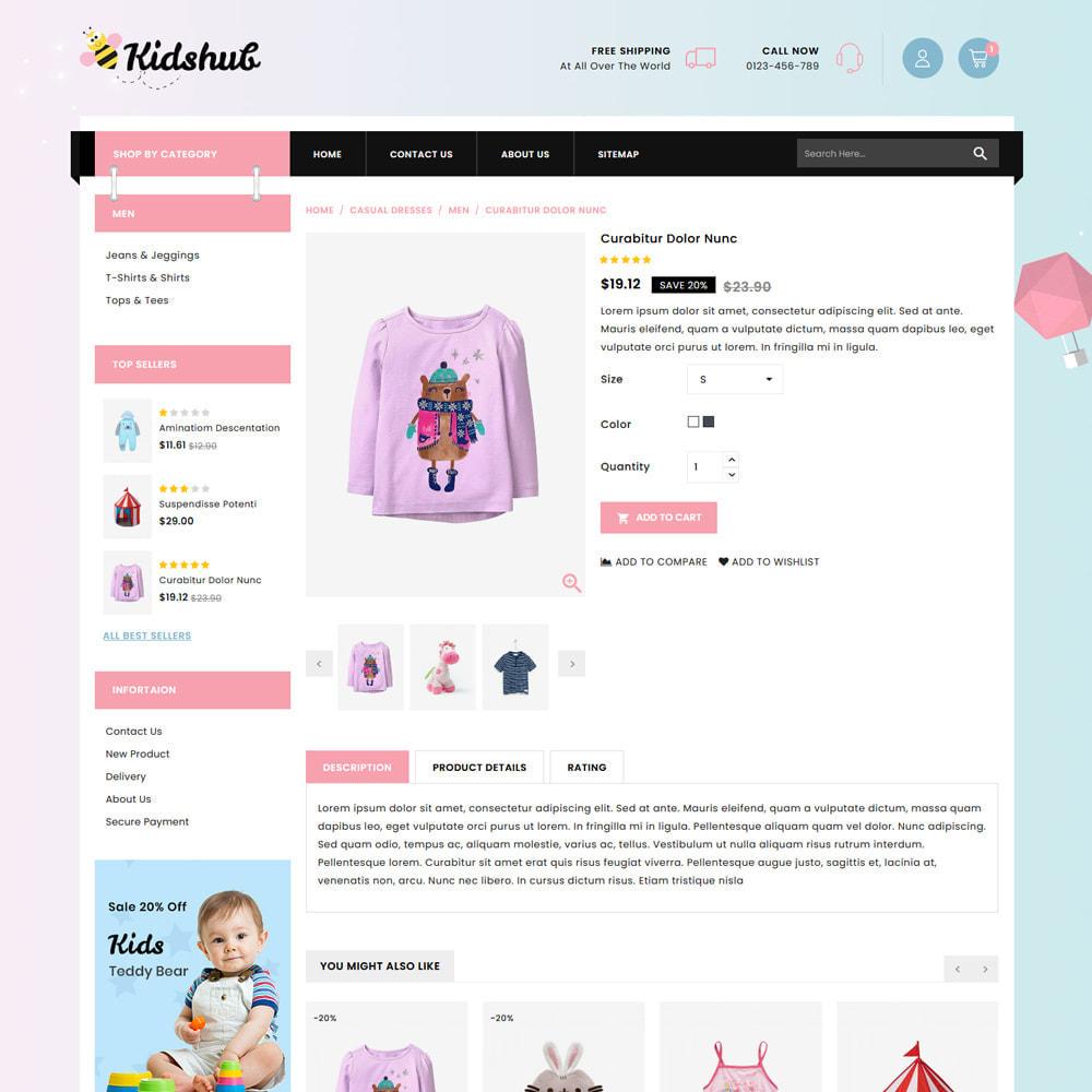 theme - Niños y Juguetes - Kidshut Kids & Toys Store - 4
