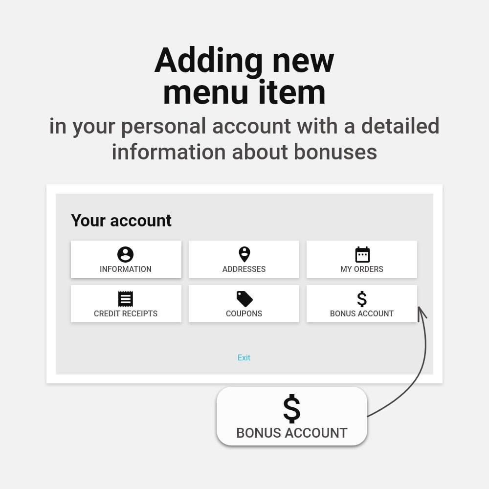 module - Referral & Loyalty Programs - Bonus cashback sustem - 10