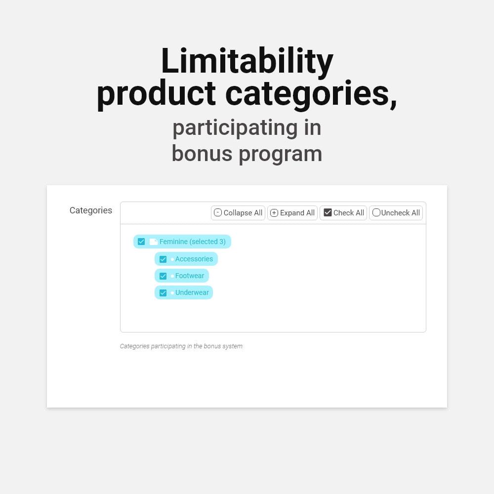 module - Referral & Loyalty Programs - Bonus cashback sustem - 14