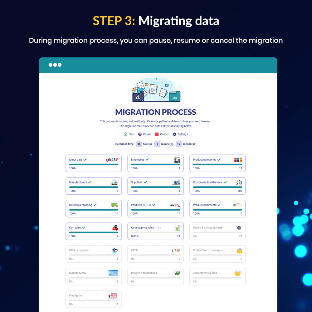 module - Migracja & Backup - MIGRATION 4.0 – Better Upgrade and Migrate Tool - 12