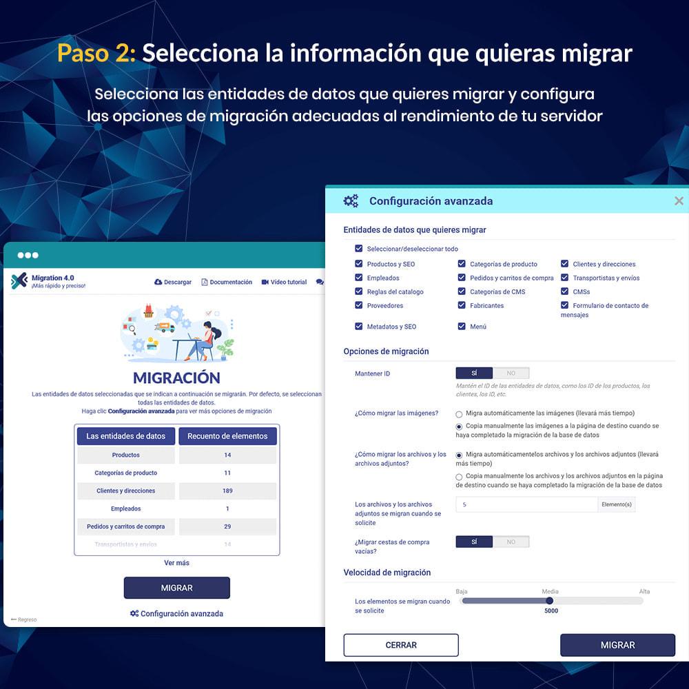 module - Migración y Copias de seguridad - MIGRATION 4.0–Herramienta de Actualización y Migración - 11