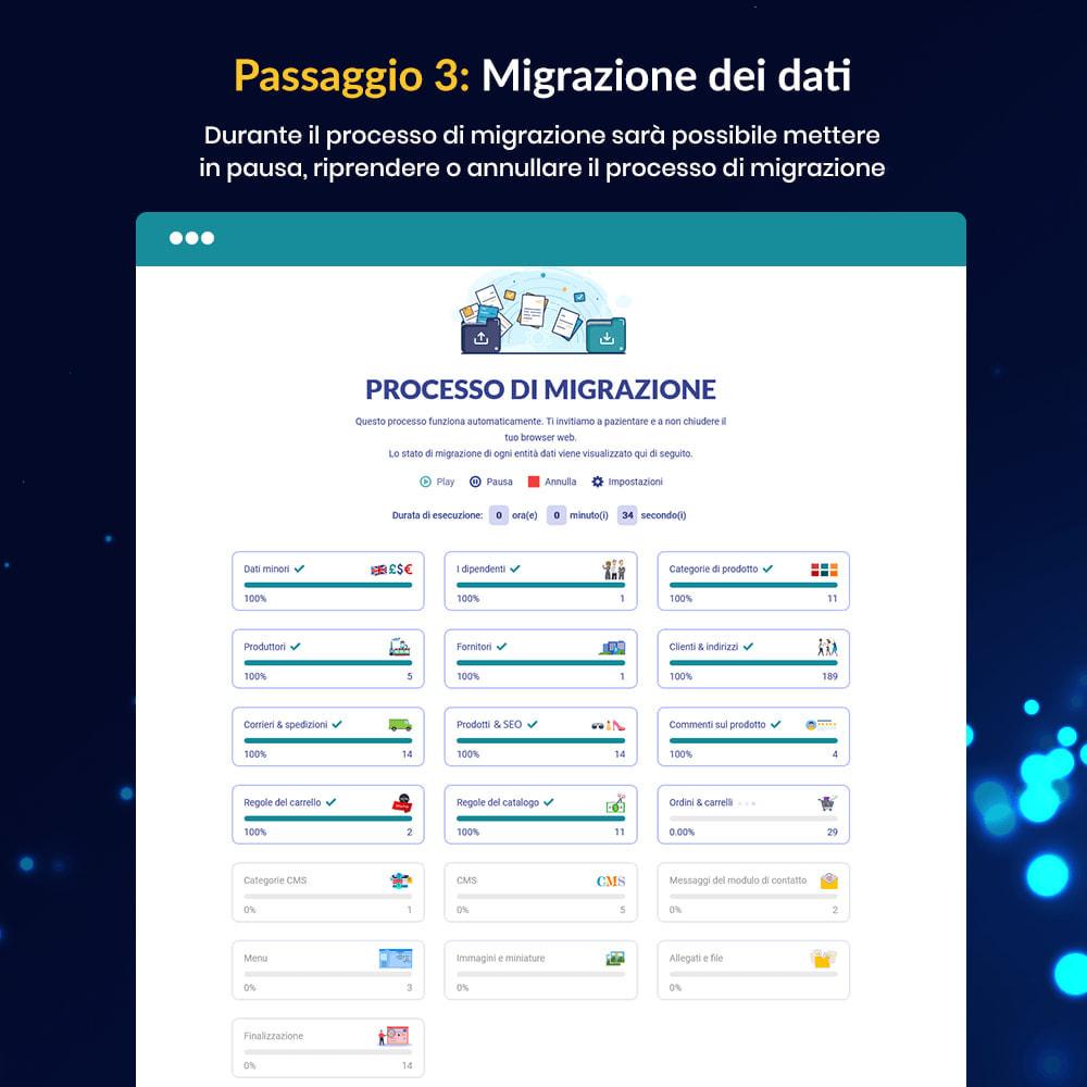 module - Data Migration & Backup - MIGRATION 4.0 – Strumento per l'upgrade e la migrazione - 12