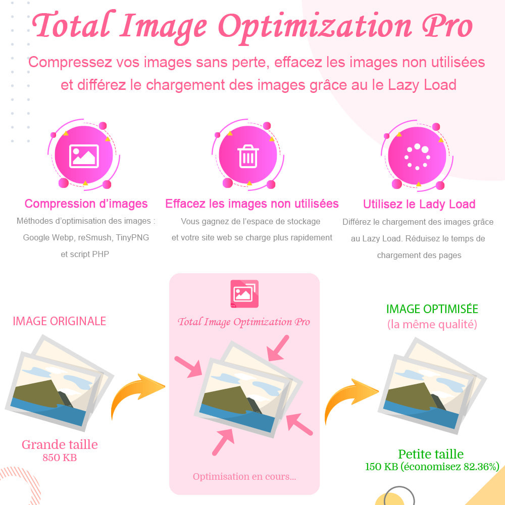 module - Performance du Site - Image Optimization Pro - Compression sans perte - 1