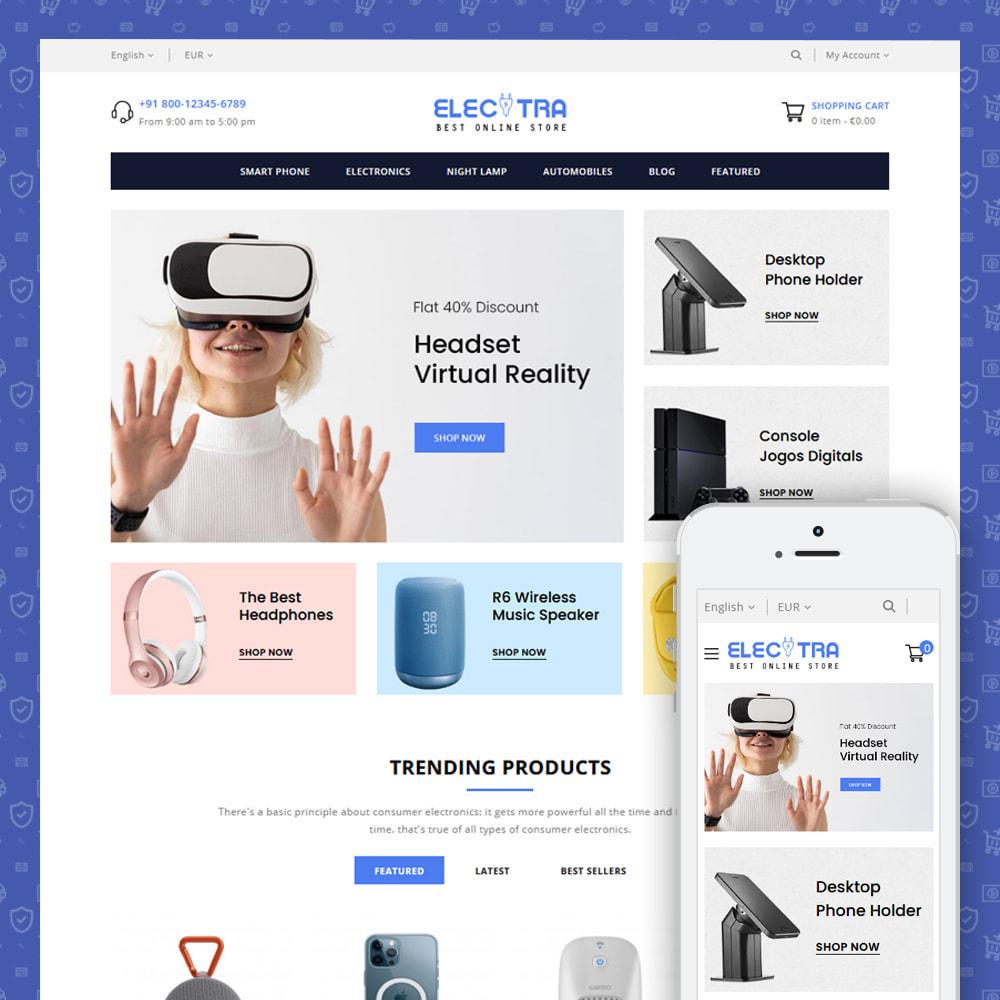 theme - Electrónica e High Tech - Electra - Electronics Store - 1