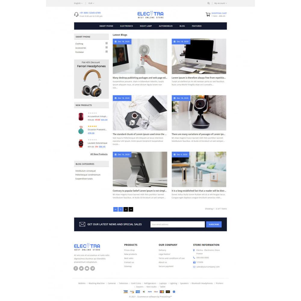 theme - Electrónica e High Tech - Electra - Electronics Store - 9