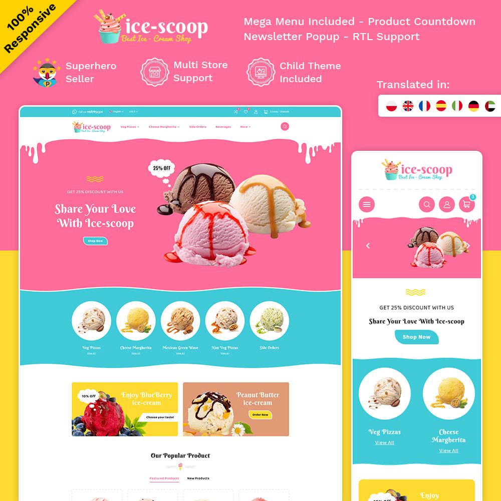 theme - Alimentation & Restauration - ice-scoop - Ice-cream Drink Cake Store - 1