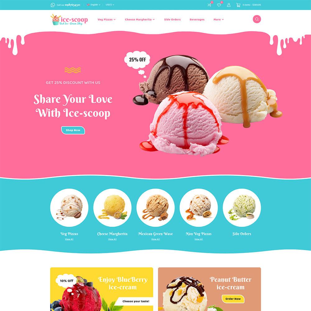 theme - Alimentation & Restauration - ice-scoop - Ice-cream Drink Cake Store - 2