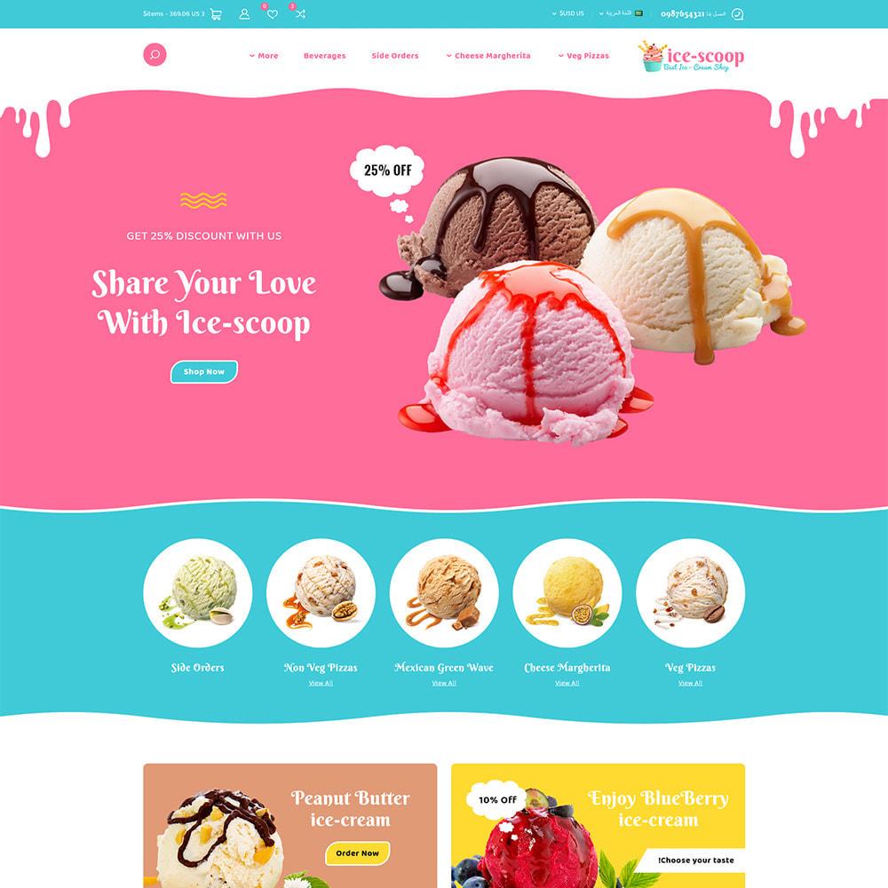theme - Alimentation & Restauration - ice-scoop - Ice-cream Drink Cake Store - 3