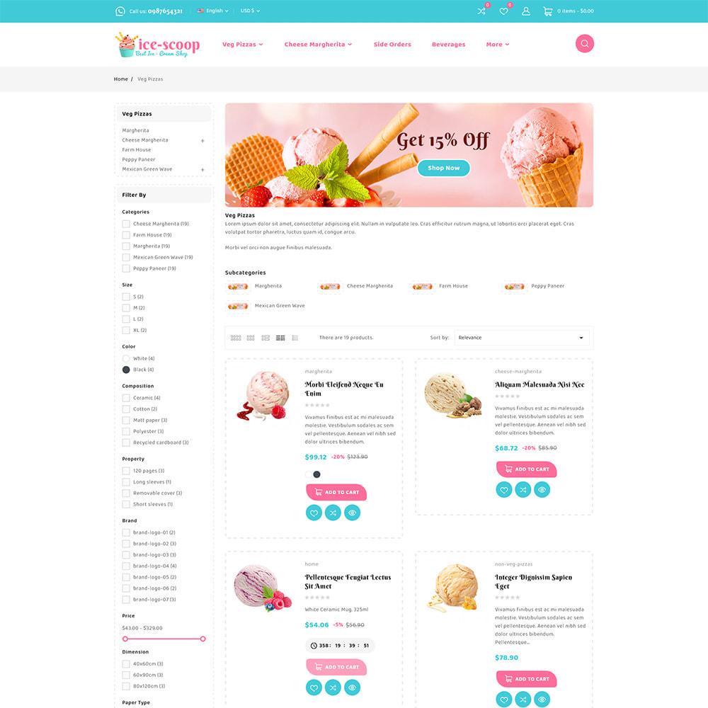 theme - Alimentation & Restauration - ice-scoop - Ice-cream Drink Cake Store - 6