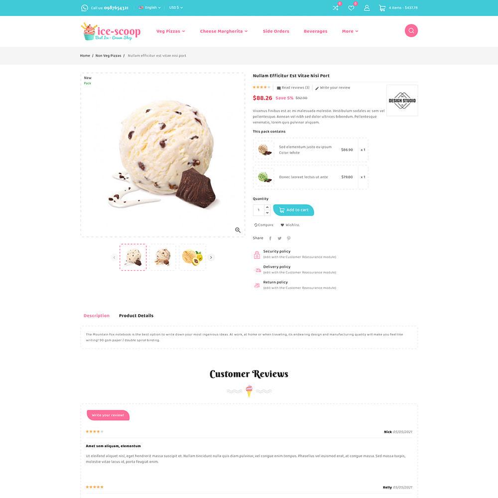 theme - Alimentation & Restauration - ice-scoop - Ice-cream Drink Cake Store - 9