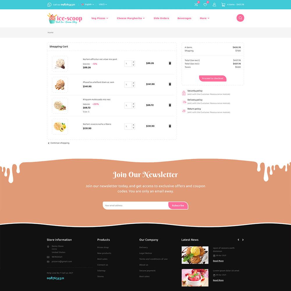 theme - Alimentation & Restauration - ice-scoop - Ice-cream Drink Cake Store - 11