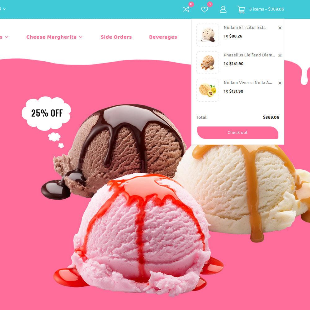 theme - Alimentation & Restauration - ice-scoop - Ice-cream Drink Cake Store - 14