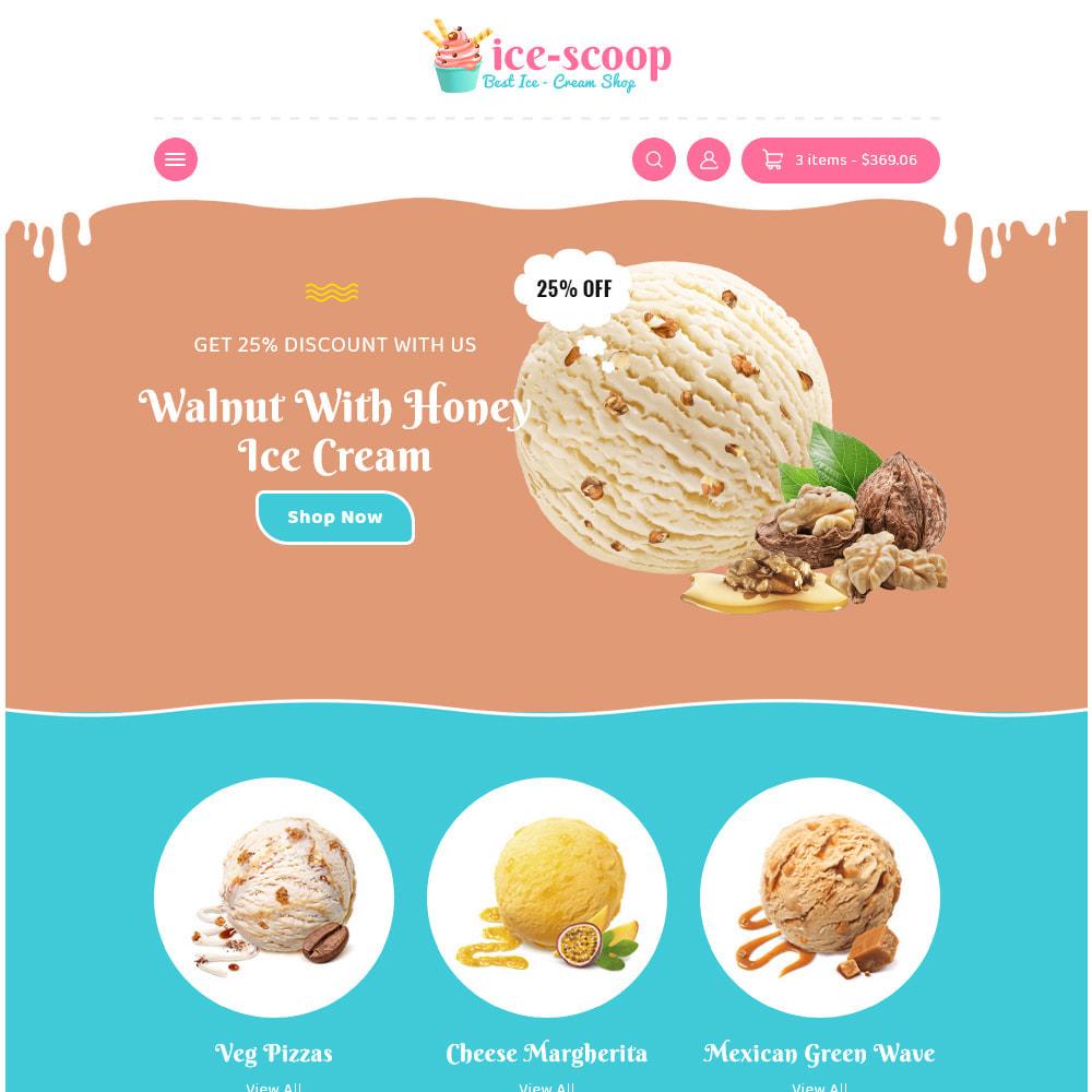 theme - Alimentation & Restauration - ice-scoop - Ice-cream Drink Cake Store - 16