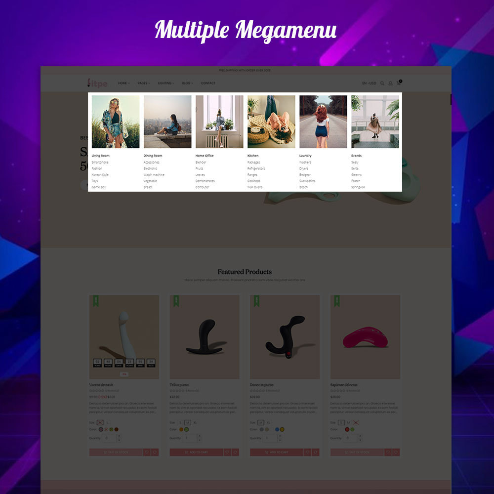 theme - Lenceria y Adultos - Litpe - Lingerie & Adult online store - 2