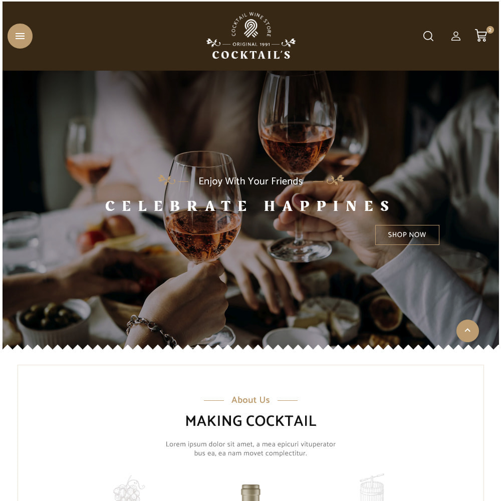 theme - Drink & Tobacco - Cocktail - Wine – Alcohol Cigarettes Drink Store - 15