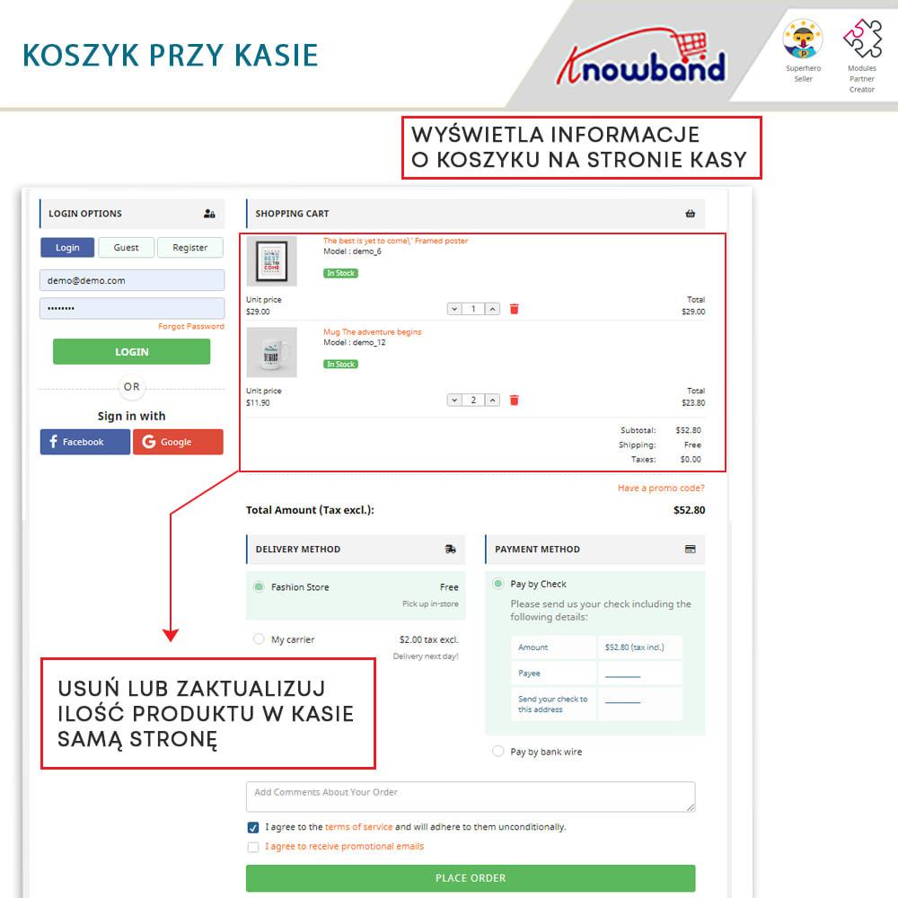 module - Szybki proces składania zamówienia - One Page Checkout, Social Login & Mailchimp - 15