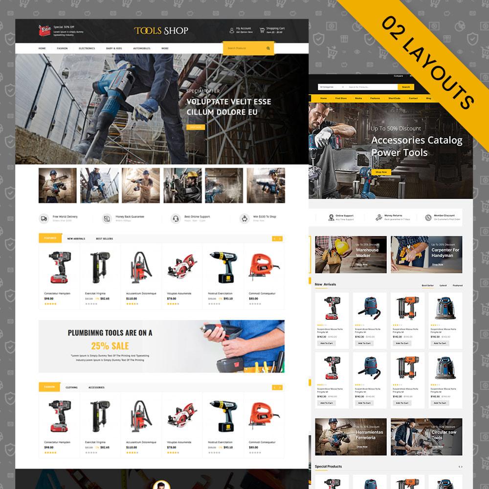 theme - Carros & Motos - Tools Shop - Best Tools Store - 1