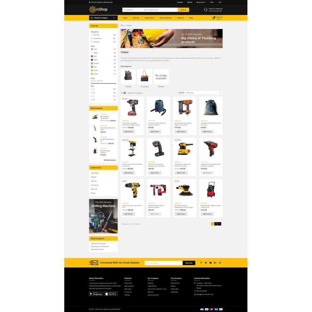 theme - Carros & Motos - Tools Shop - Best Tools Store - 4