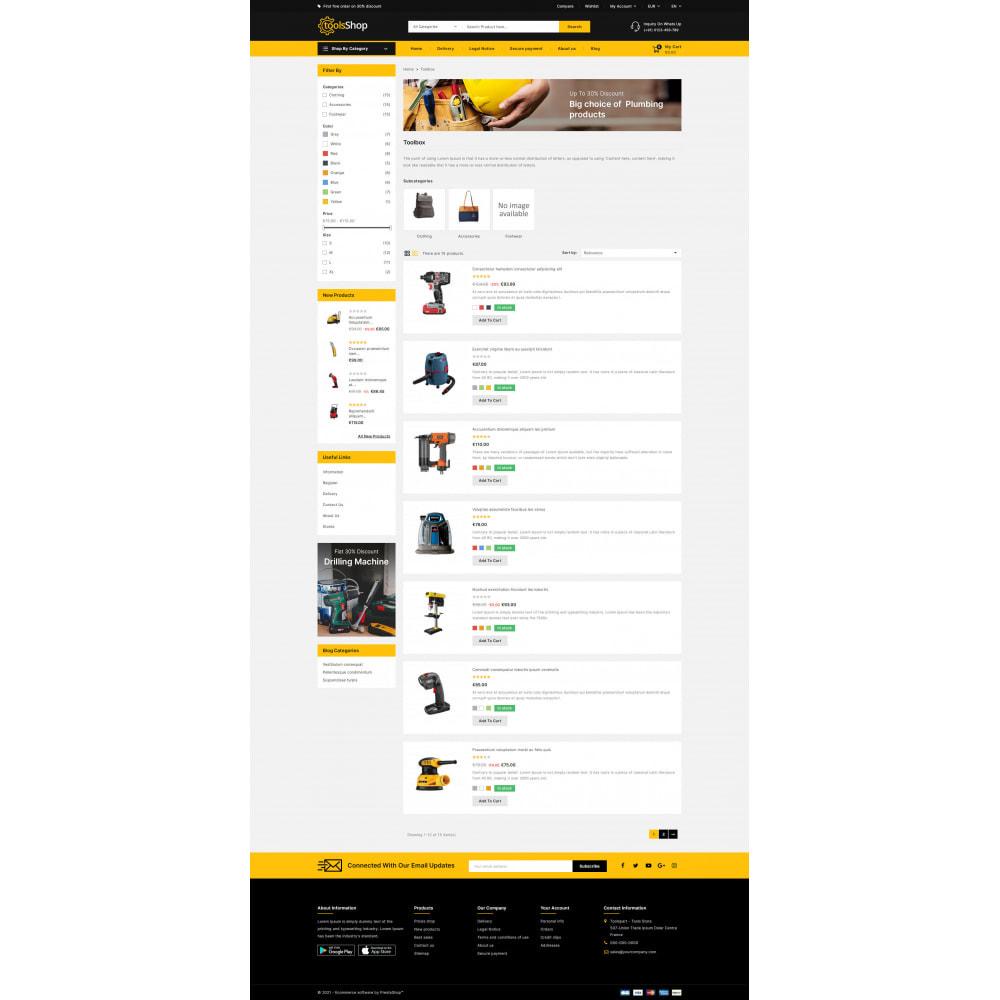 theme - Carros & Motos - Tools Shop - Best Tools Store - 5