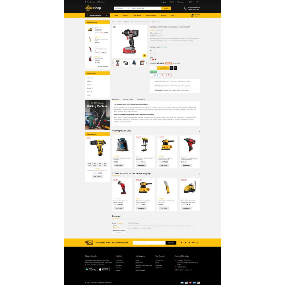 theme - Carros & Motos - Tools Shop - Best Tools Store - 6