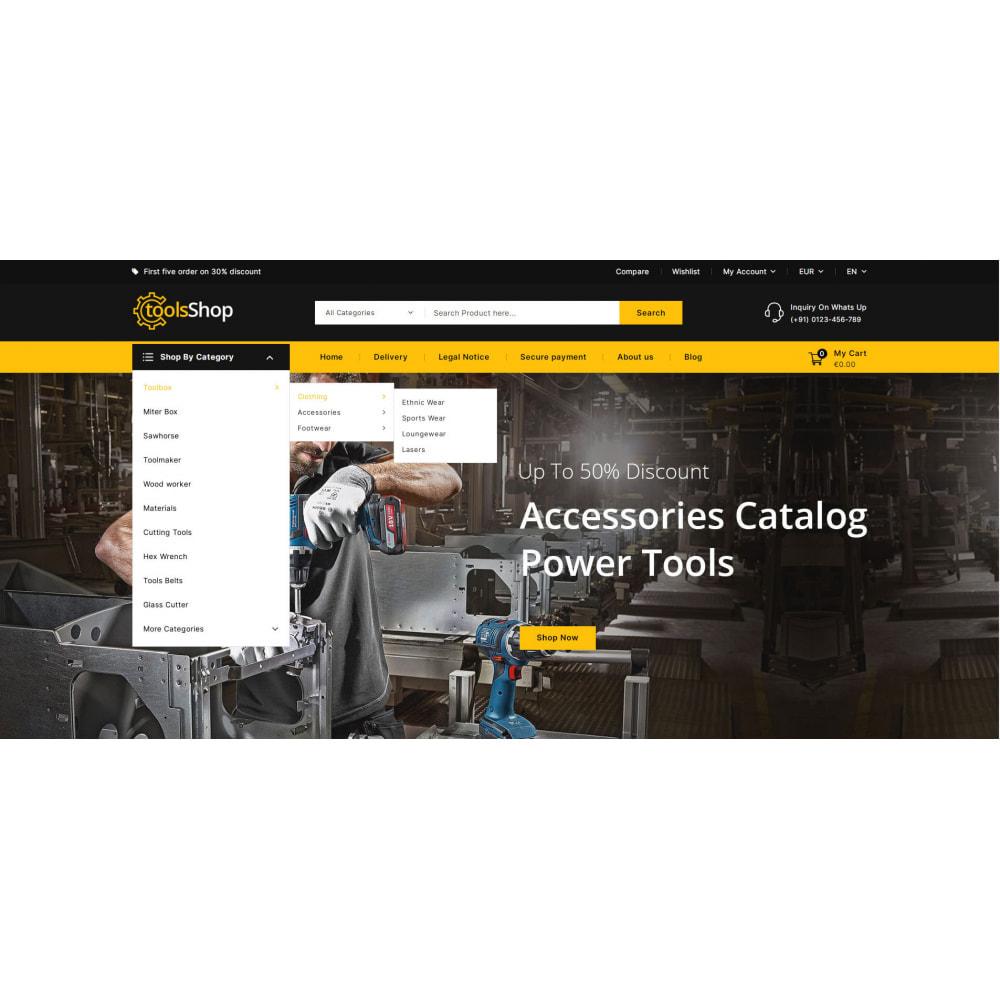 theme - Carros & Motos - Tools Shop - Best Tools Store - 7