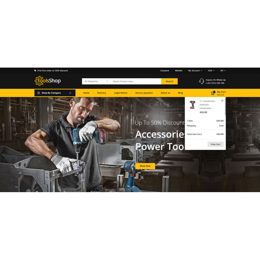 theme - Carros & Motos - Tools Shop - Best Tools Store - 9