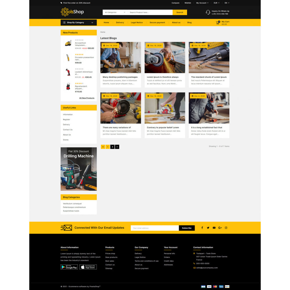 theme - Carros & Motos - Tools Shop - Best Tools Store - 10