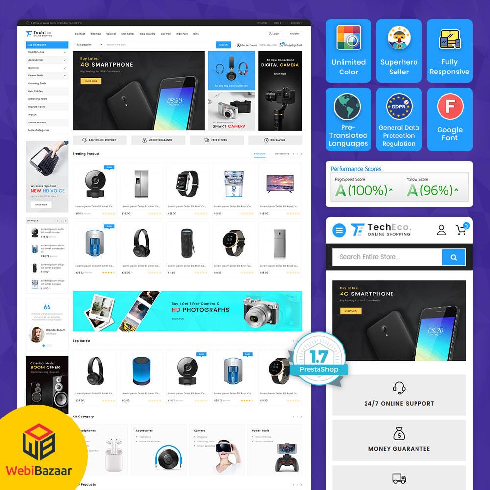 theme - Elektronika & High Tech - TechEco  - The Online Shopping - 10
