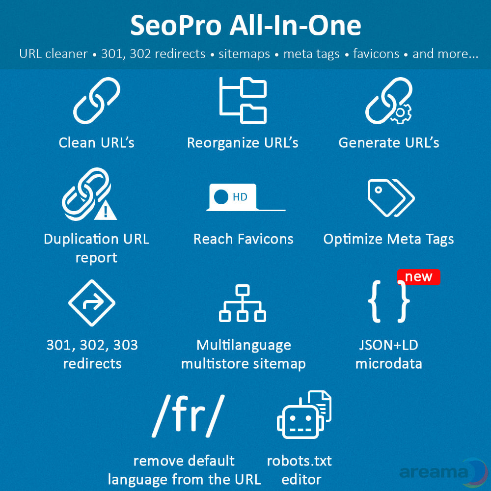 module - SEO - SEO Pro All-In-One. URL cleaner, redirects, sitemaps... - 2