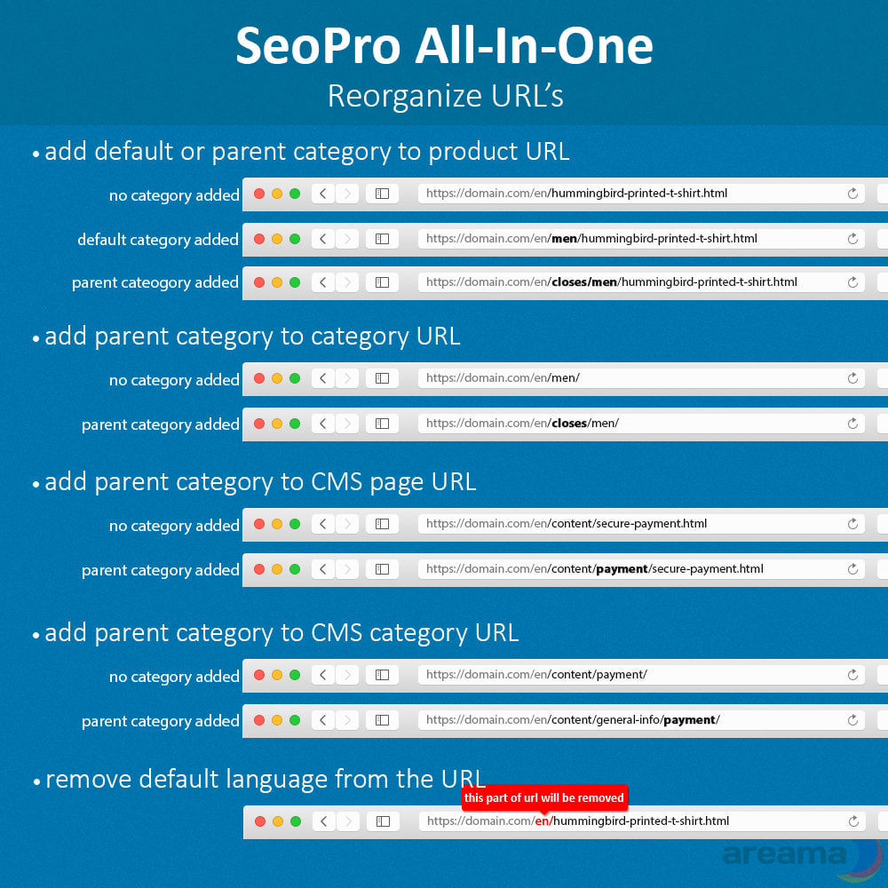 module - SEO - SEO Pro All-In-One. URL cleaner, redirects, sitemaps... - 4