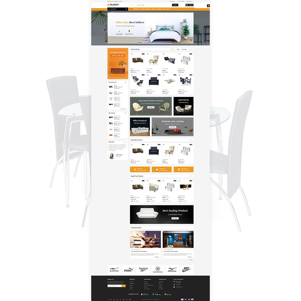 theme - Casa & Giardino - Silvera - Moden Furniture Store - 2