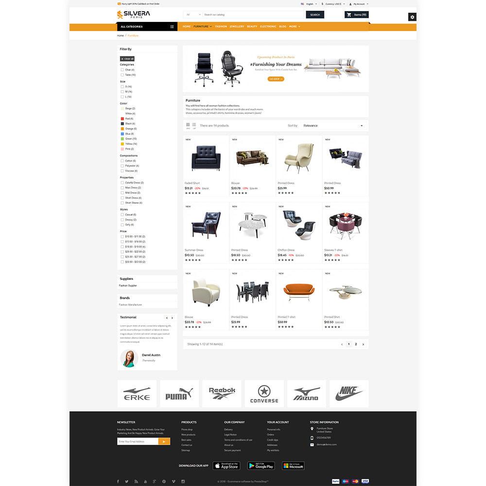 theme - Casa & Giardino - Silvera - Moden Furniture Store - 3