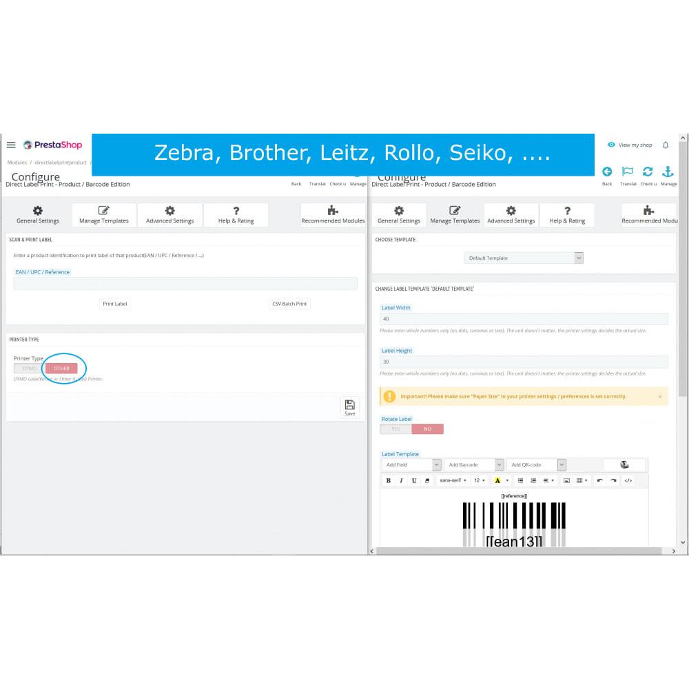 module - Przygotowanie & Wysyłka - Product / Barcode Labels - Direct Label Print - 7