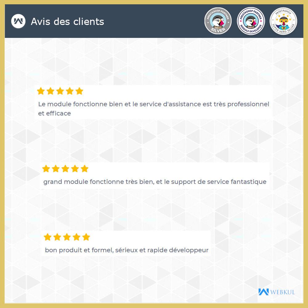 module - Service Client - Connexion administrateur en tant que client - 5