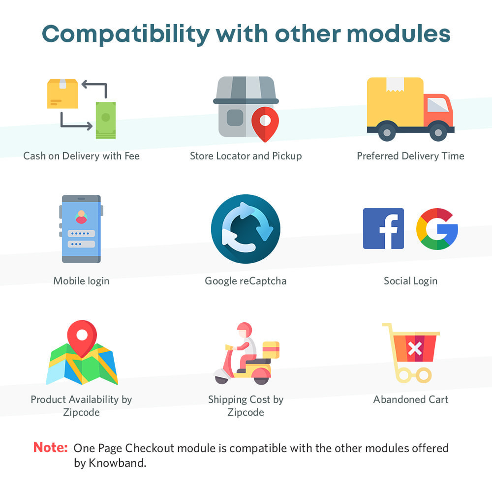 module - Express Checkout Process - One Page Checkout, Social Login & Mailchimp - 4