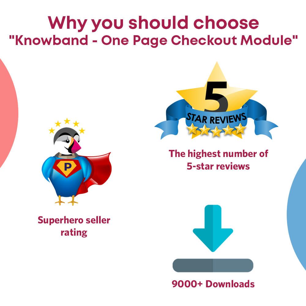 module - Express Checkout Process - One Page Checkout, Social Login & Mailchimp - 5
