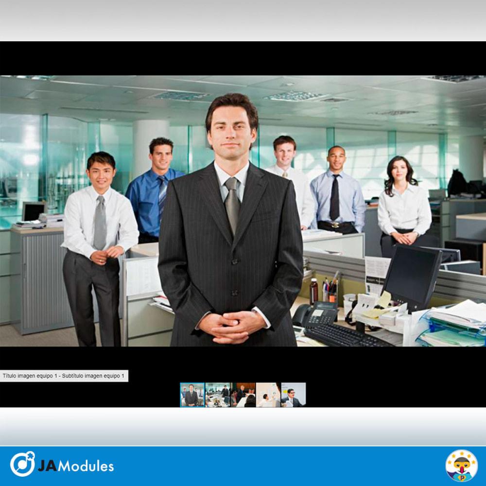 module - Sliders y Galerías de imágenes - Galería de fotos y videos Fotorama - 8