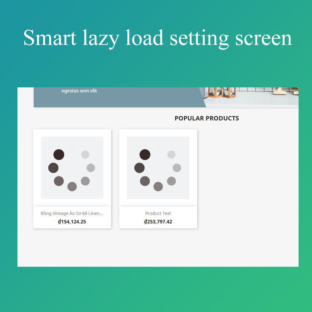 module - Website Performance - Smart optimization - lazy load images - 2