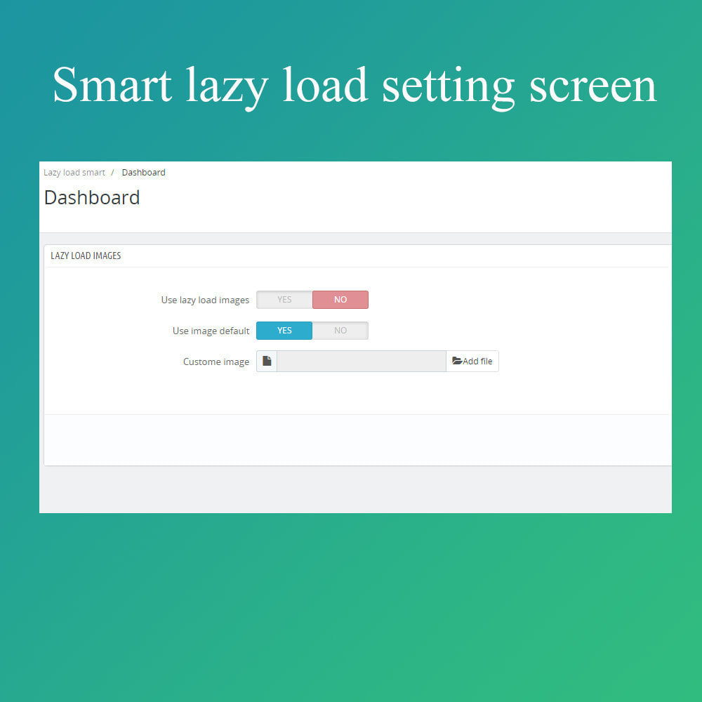 module - Website Performance - Smart optimization - lazy load images - 3