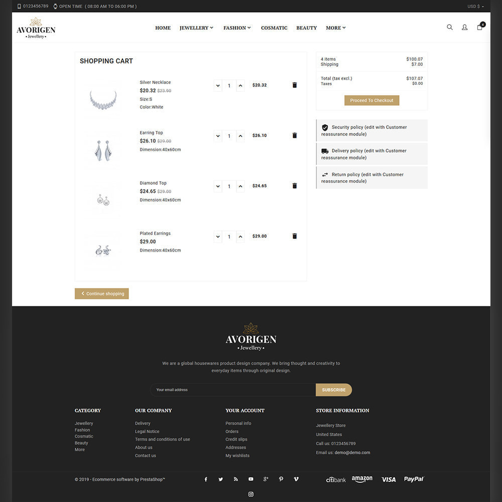 theme - Biżuteria & Akcesoria - Avorigen Jewellery Store - 5