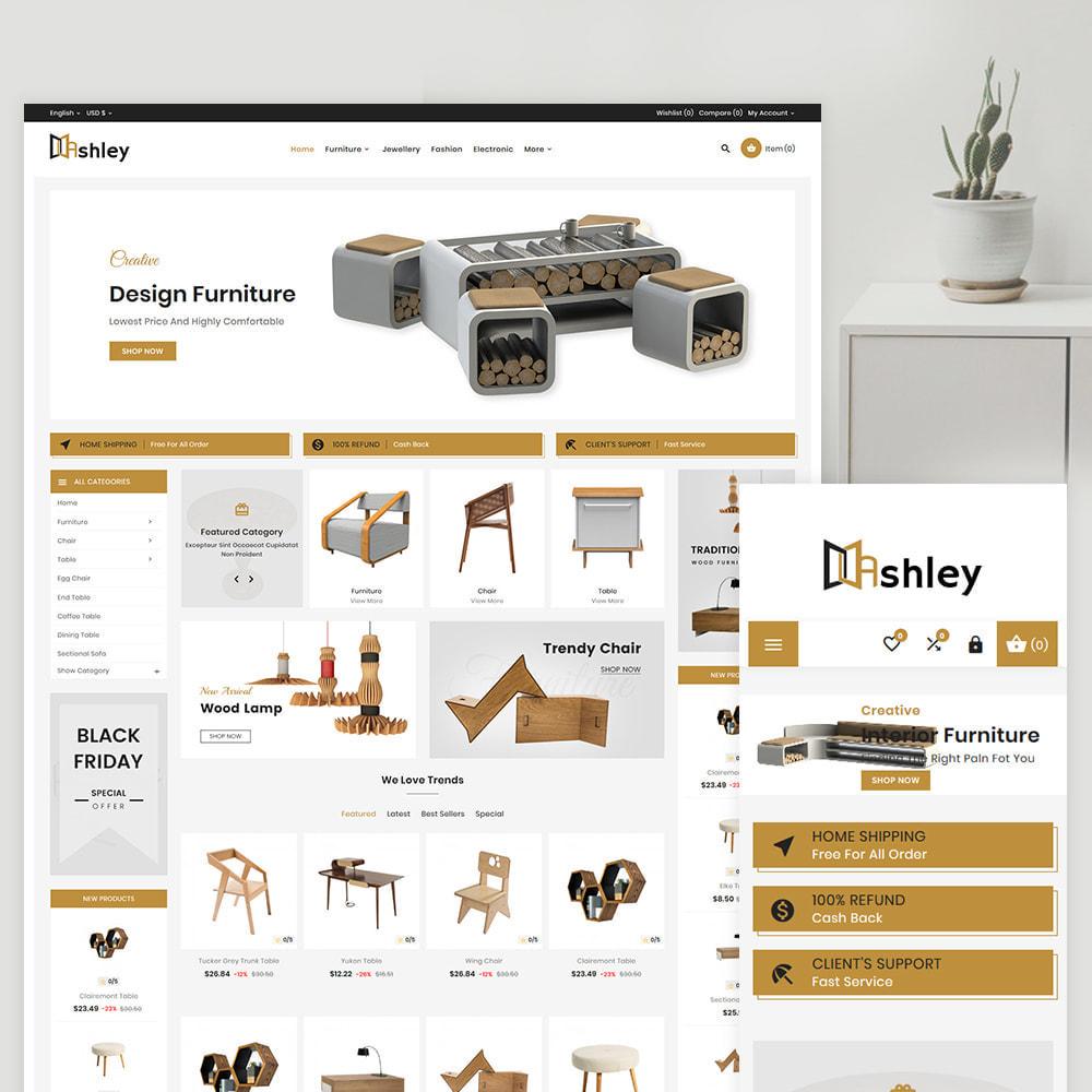 theme - Home & Garden - Ashley – Modern Furniture Shop - 1
