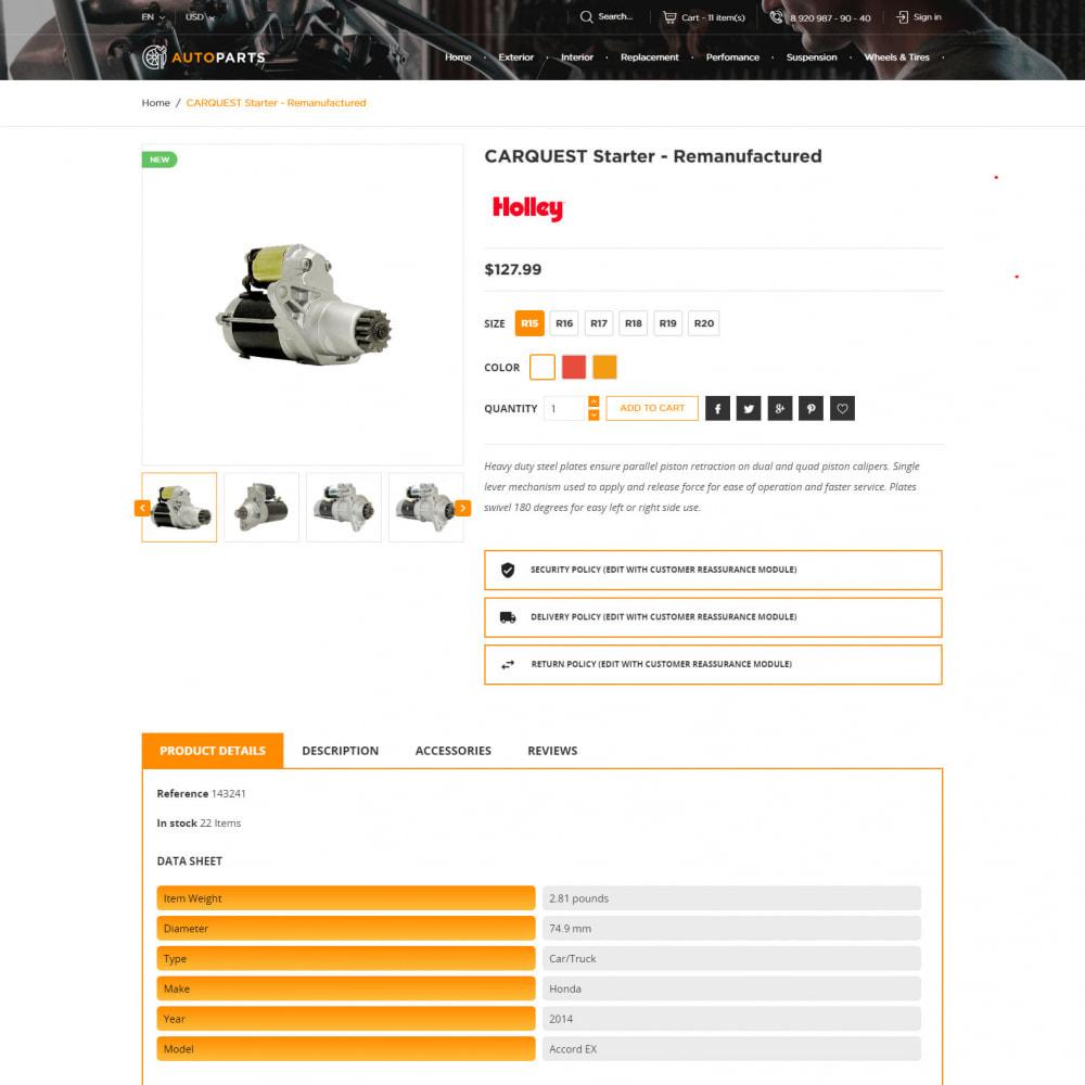 theme - Auto & Moto - Negozio Di Ricambi Auto - 6