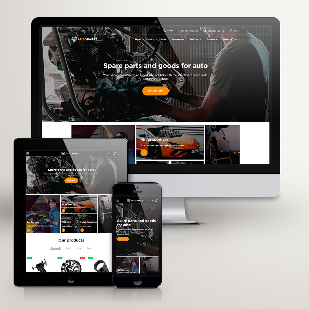 theme - Auto's & Motoren - Auto-Onderdelen Winkel - 3