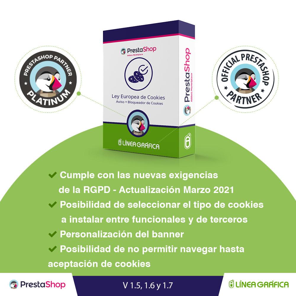 module - Marco Legal (Ley Europea) - Ley de Cookies RGPD (Aviso + Bloqueador) - Nuevo 2021 - 1