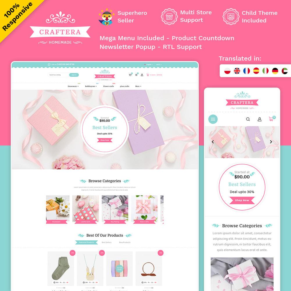 theme - Подарки, Цветы и праздничные товары - Carftera - Gifts Flowers Celebrations Store - 1