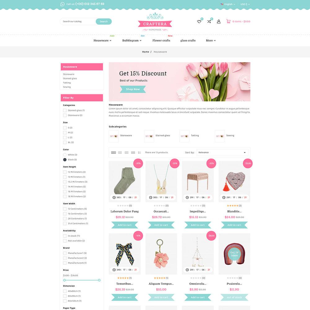 theme - Prezenty, Kwiaty & Uroczystości - Carftera - Gifts Flowers Celebrations Store - 5
