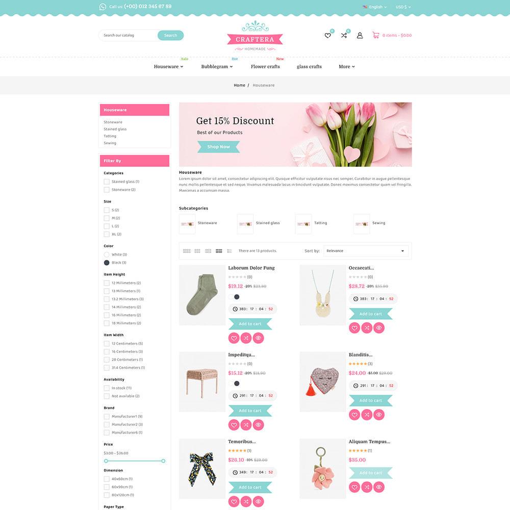 theme - Подарки, Цветы и праздничные товары - Carftera - Gifts Flowers Celebrations Store - 6